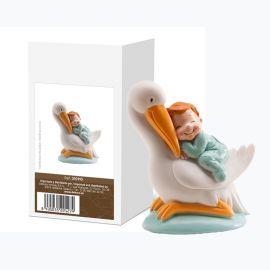Cicogna Addormentata Bambino