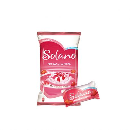Solano Cuore Fragola e Panna Toffee Senza Zucchero 300 Pz