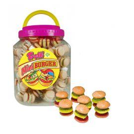 Vasetto di Mini Hamburgers Trolli 90 Pz