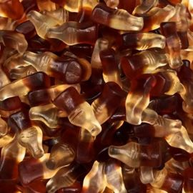 Mini Botellas Cola de Goma Haribo 1 Kg