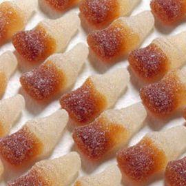 Mini Bottiglie Cola Frizzanti Gommose Haribo 1 Kg