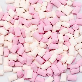 Toppings di Marshmallow Rosa e Blanco Fini 1 Kg