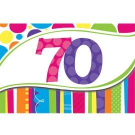 8 Inviti 70 Righe e Punti