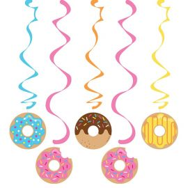 5 Decorazioni Appese Donut Time