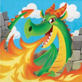 Tovaglioli Dragons 33 cm