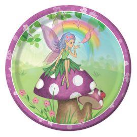 8 Piatti Fancy Fairy 23 cm