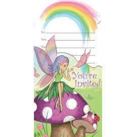 8 Inviti Fancy Fairy