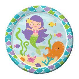 8 Piatti Sirena 18 cm