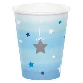 8 Bicchieri One Little Star Boy 266 ml