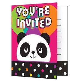 8 Inviti Panda