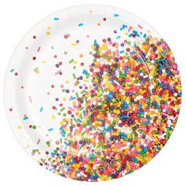 8 Piatti Sprinkles 18 cm