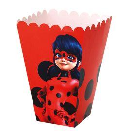 Scatole Popcorn LadyBug