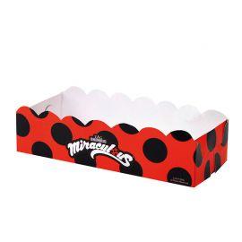 Vassoi LadyBug Rettangolari