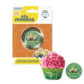 50 Pirottini Minions per Cupcake