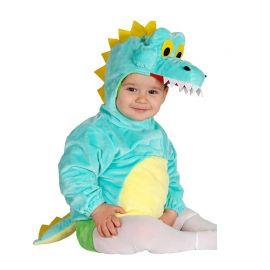Costume da Coccodrillo per Neonato Azzurro