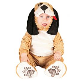 Costume Cagnolino Marrone Chiaro per Neonato