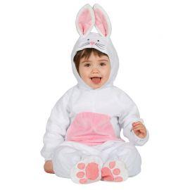 Costume Coniglietto Bianco per Neonato