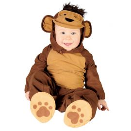 Costume da Scimmietta Pelosa per Neonato