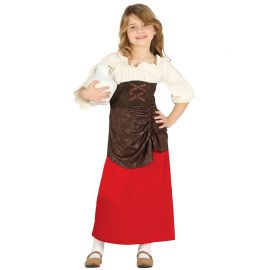Costume da Locandiera Campagnola per Bambina