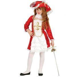Costume Moschettiera Valorosa per Bambina
