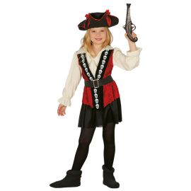 Costume Teschio Piratessa per Bambina