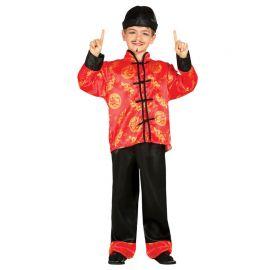 Costume da Orientale Per Bambino Rosso