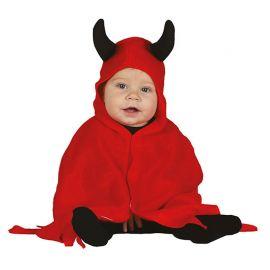 Costume Diavolo per Neonato con Mantello