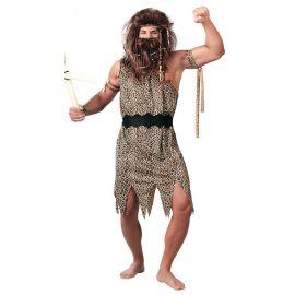 Costume Cavernicolo Uomo con Cintura