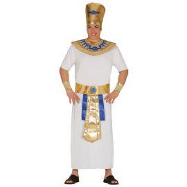 Costume Faraone Uomo Vestito Bianco