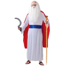 Costume da Druido per Uomo Tunica Bianca