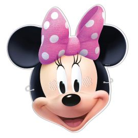 6 Maschere Minnie Mouse
