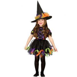 Costume Strega per Bambina Incantevole