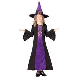 Costume Strega per Bambina Folclorica