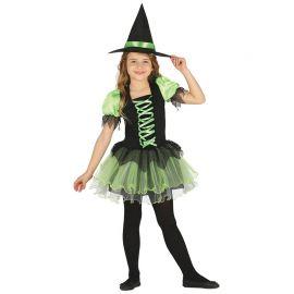 Costume Strega Smeraldo per Bambina