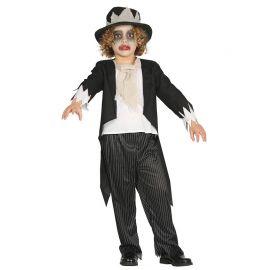 Costume con Smoking per Bimbo da Sposo Fantasma