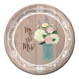 Piatti Matrimonio Rustico 26 cm