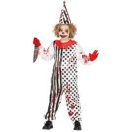 Costume da Zombie Pagliaccio per Bambino con Stampa