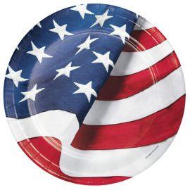 8 Piatti Americani 23 cm