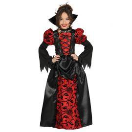 Costume da Vampira per Bambina con Vestito Elegante