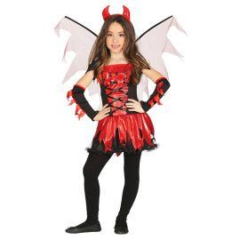 Costume da Diavolessa Bambina con Ali