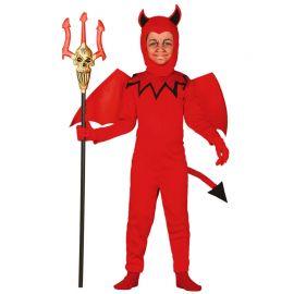 Costume da Diavoletto per Bambino con Tuta Rossa