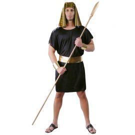 Costume Uomo Egiziano Vestito Nero