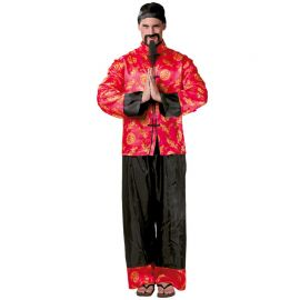 Costume Cinese Uomo Due Pezzi