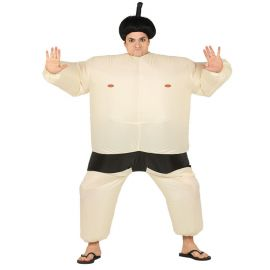 Costume Lottatore Sumo Per Adulto Gonfiabile