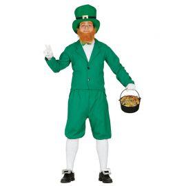 Costume da Leprechaun per Uomo con Barba