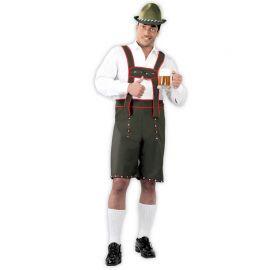 Costume Tirolese Uomo con Bretelle