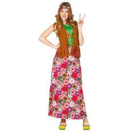 Costume da Hippie Felice per Donna con Fascia