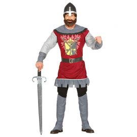 Costume da Principe Medievale per Uomo Guerriero