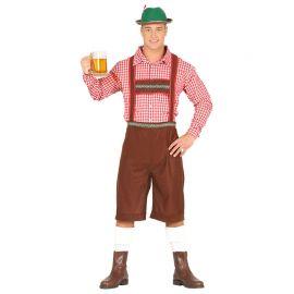 Costume da Bavarese per Uomo Oktoberfest
