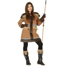 Costume da Eschimese per Donna Cacciatrice